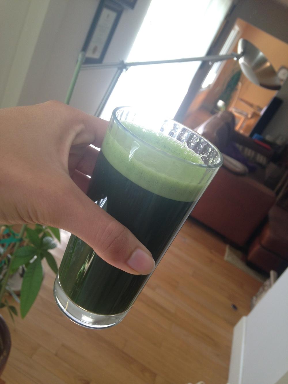 Kale Combo Juicing