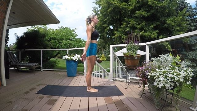 "The best part of being ""off"" is that I have had  the ability to decompress, tune in and to allow my creativity to take the lead. I listened to my internal frequency this morning and just simply moved. . . . . Song: From the Movie ""The Screens"" Artist: Philip Glass . . , . . #yoga #yogaeverday #frequency #vibrations #flow #butiyoga #sleektechnique #yogaoutside #vacation #creativity"