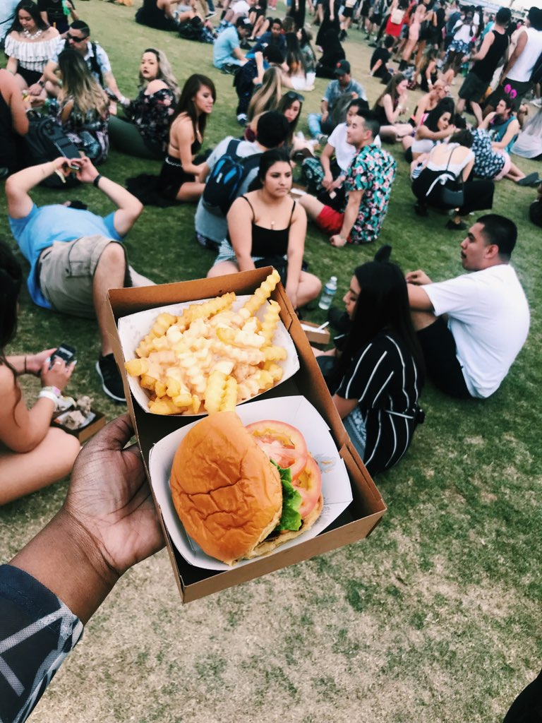 Shake Shack pop up! - Cheesy fries for the win