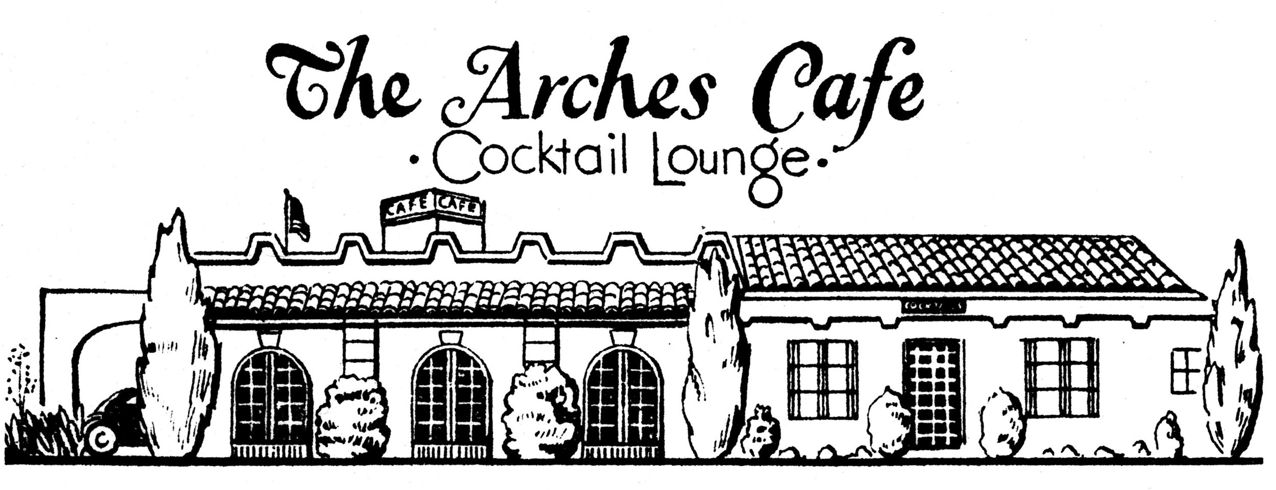 The Arches Cafe, 1952.