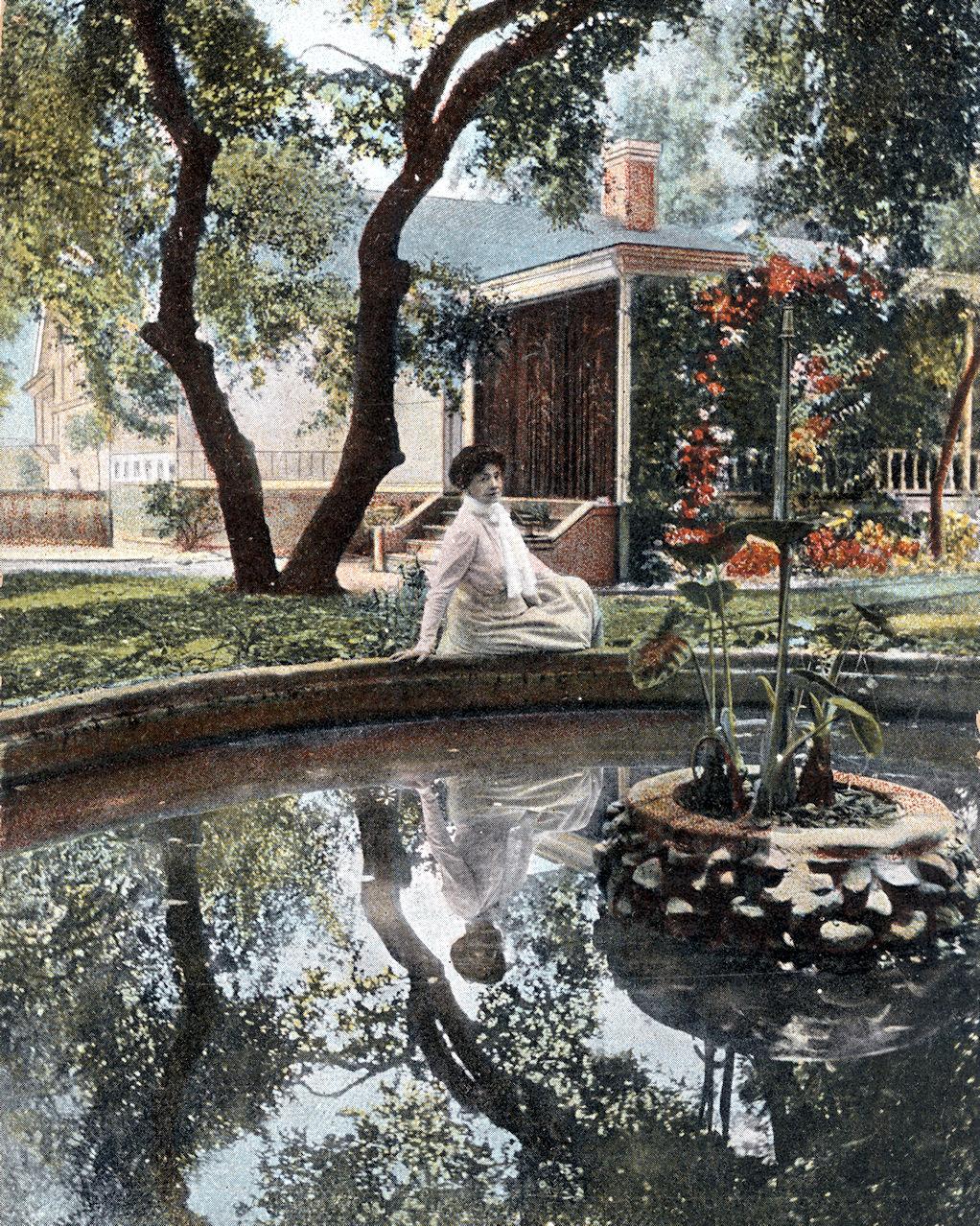 Modjeska at Arden, 1906.