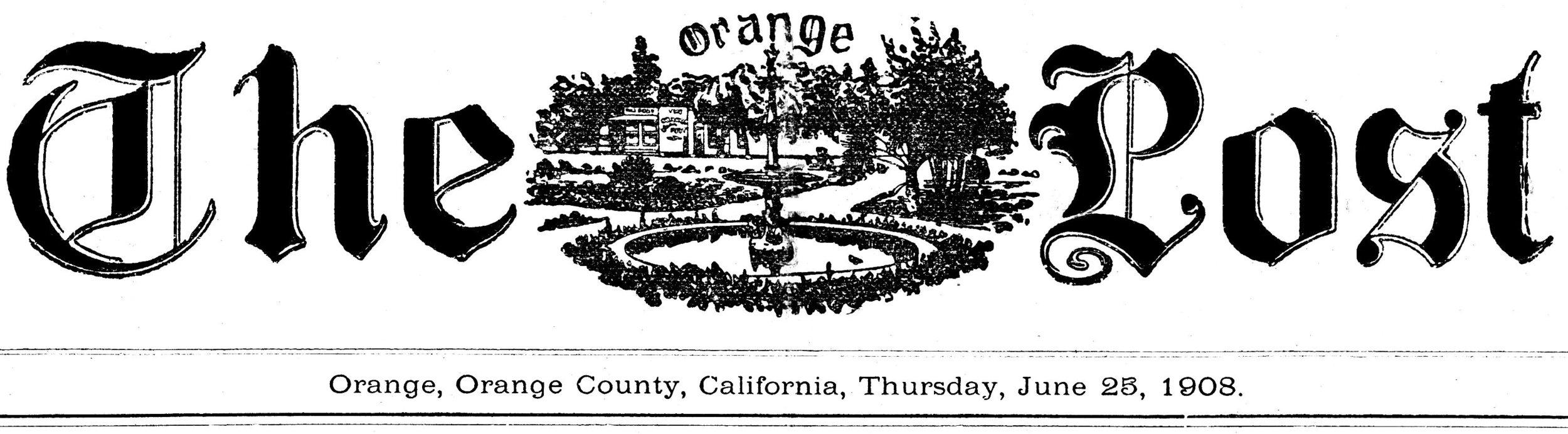 Orange Post 1908.jpg