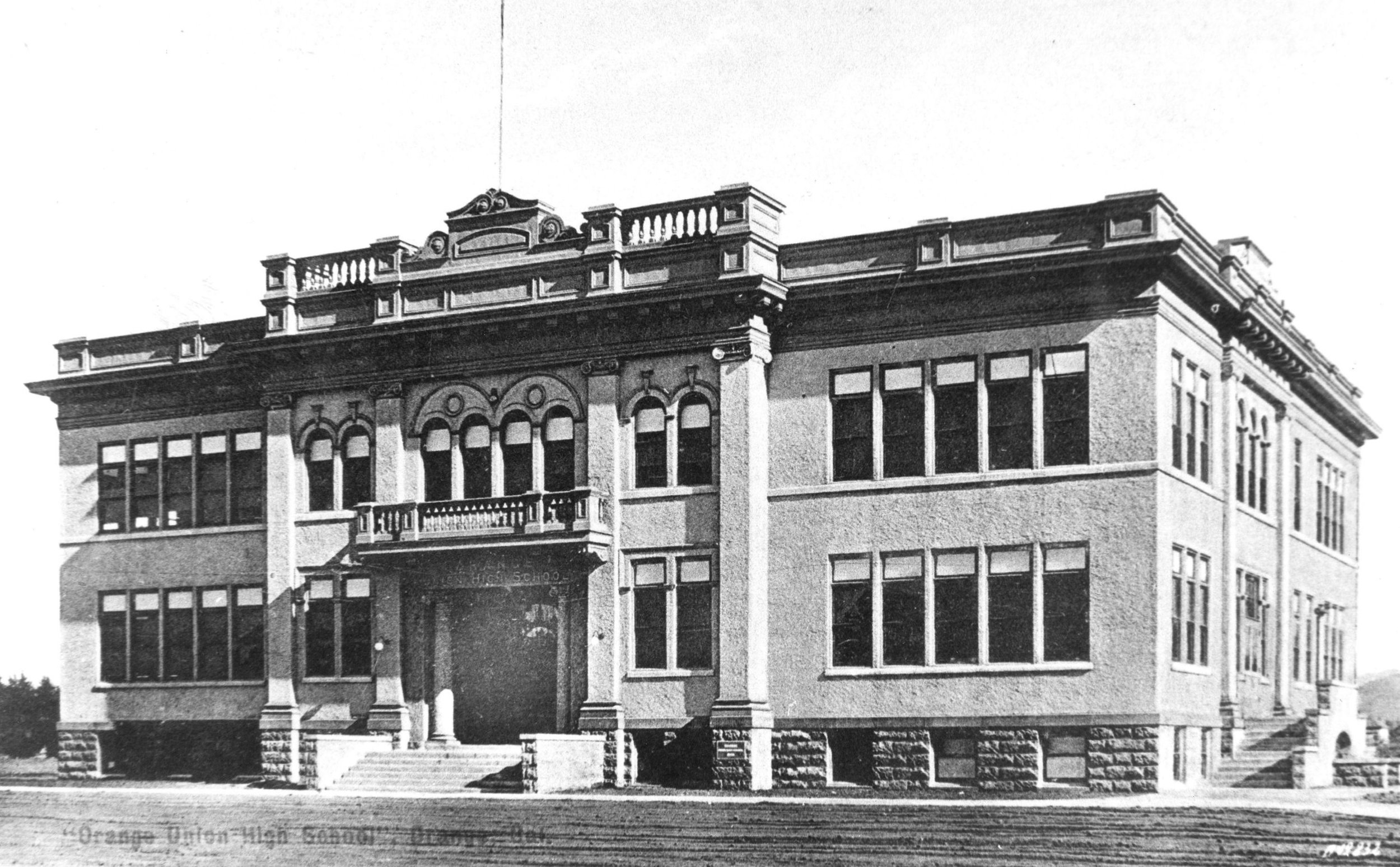Orange Union High School, 1905.