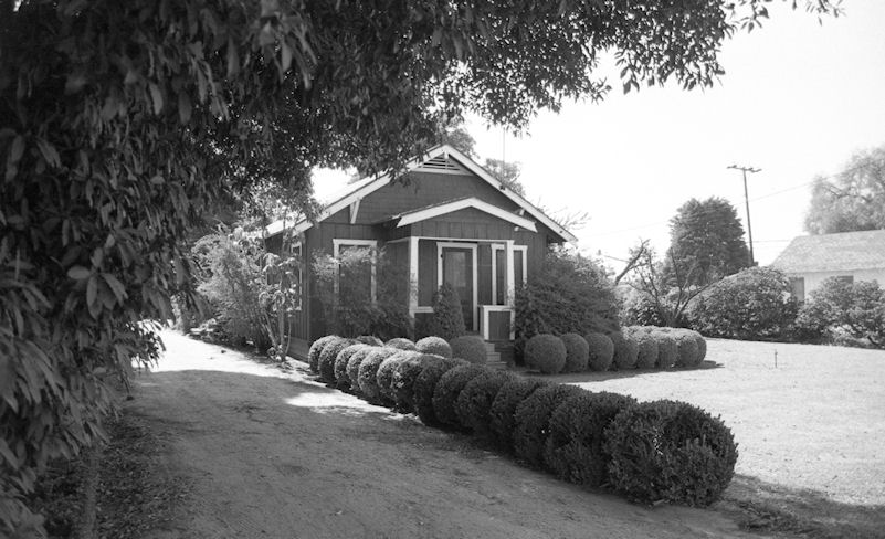 The Furuta family home, 1986 (photo by Phil Brigandi, courtesy the Center for Oral and Public History, California State University, Fullerton).