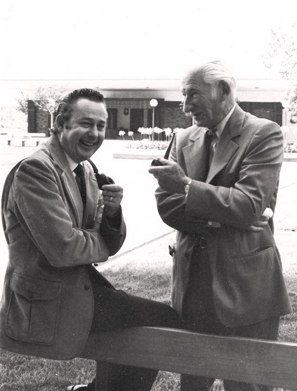 Jim Sleeper and Don Meadows, 1972 (courtesy Nola Sleeper).