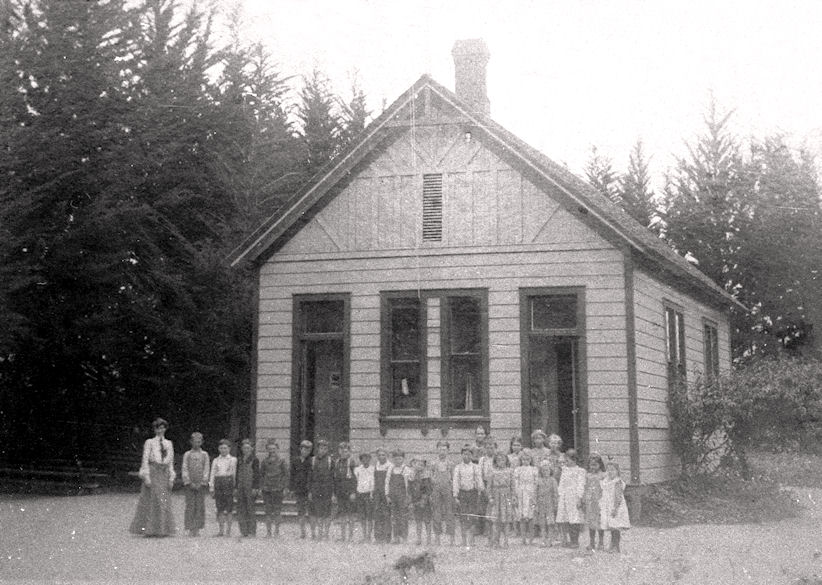 West Orange School, 1890-1904; photo circa 1900 (courtesy Pat Hearle).