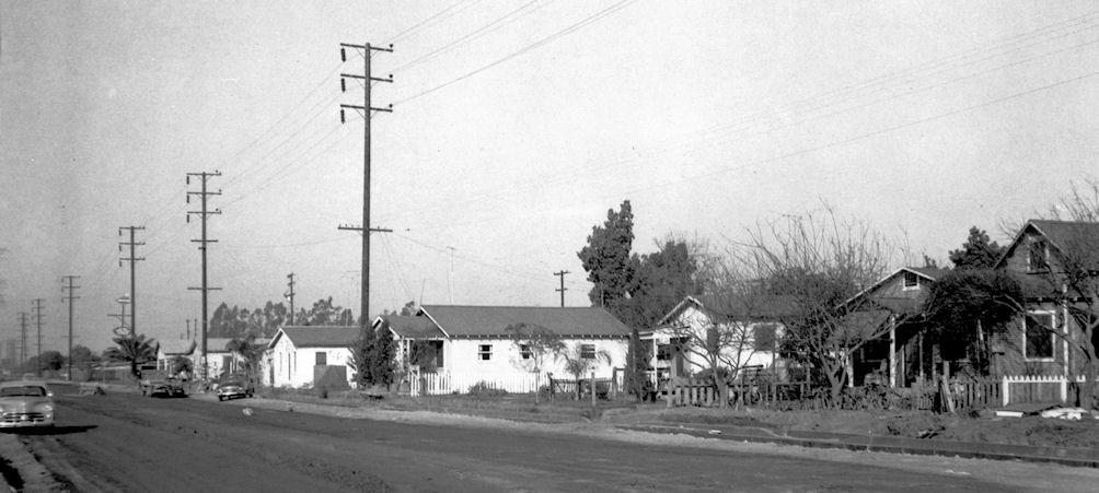 Colonia Juarez, 1956 (courtesy the Orange County Archives).