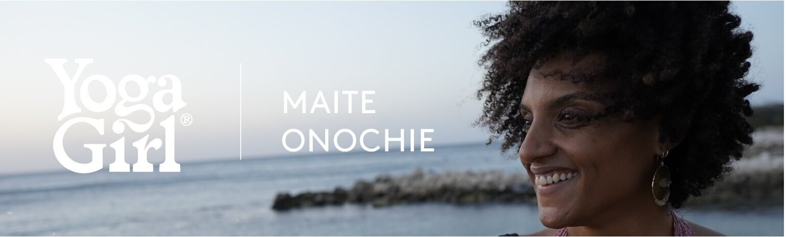 Maite Onochie is one of the New Yoga Guides for the YOGA GIRL online platform