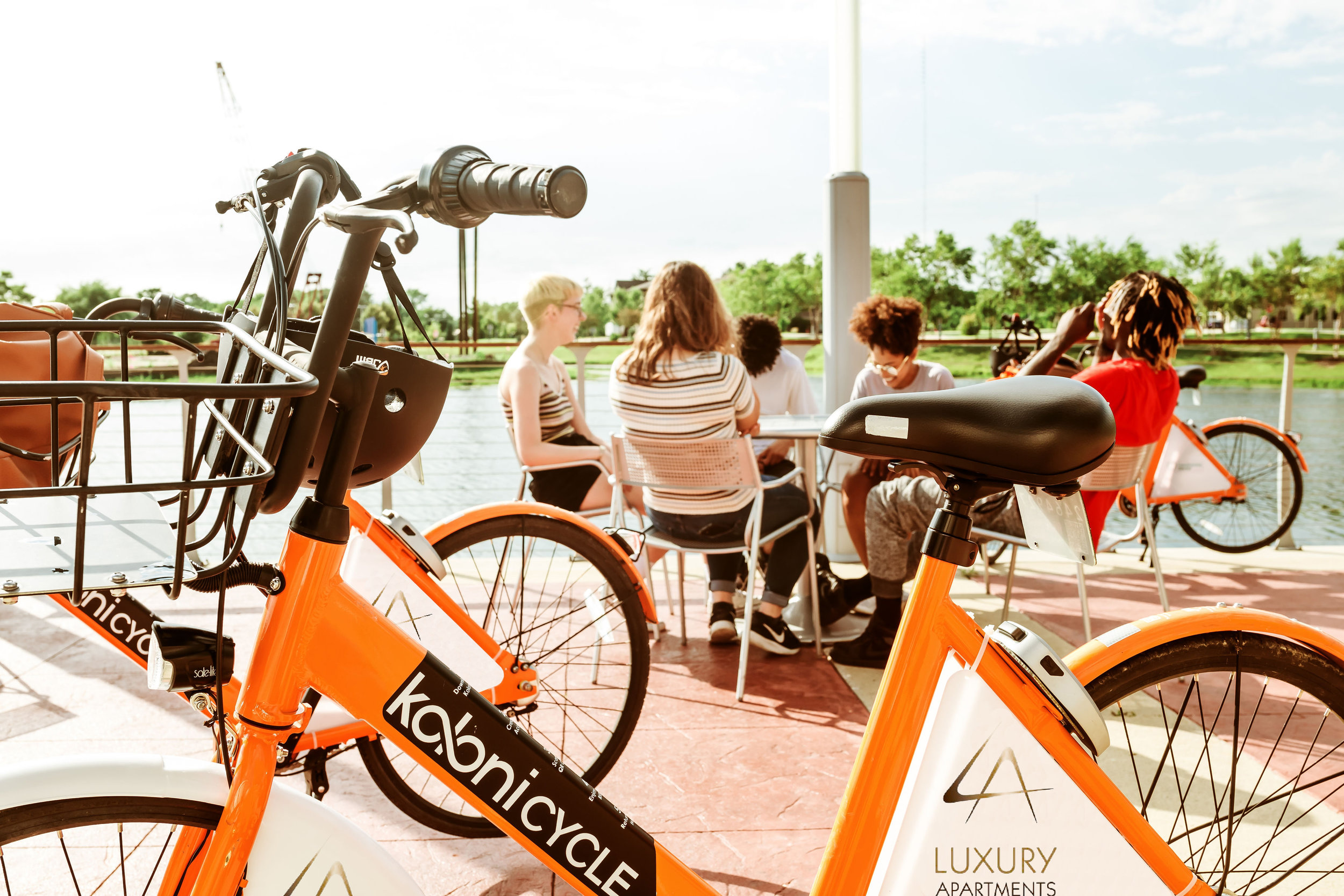 A Billboard on Wheels - A branded bike fleet will travel all around your community. Market your property, fill vacancies, and create brand recognition.Alternatively, you can sell the ad space, and generate additional revenue for your facility.