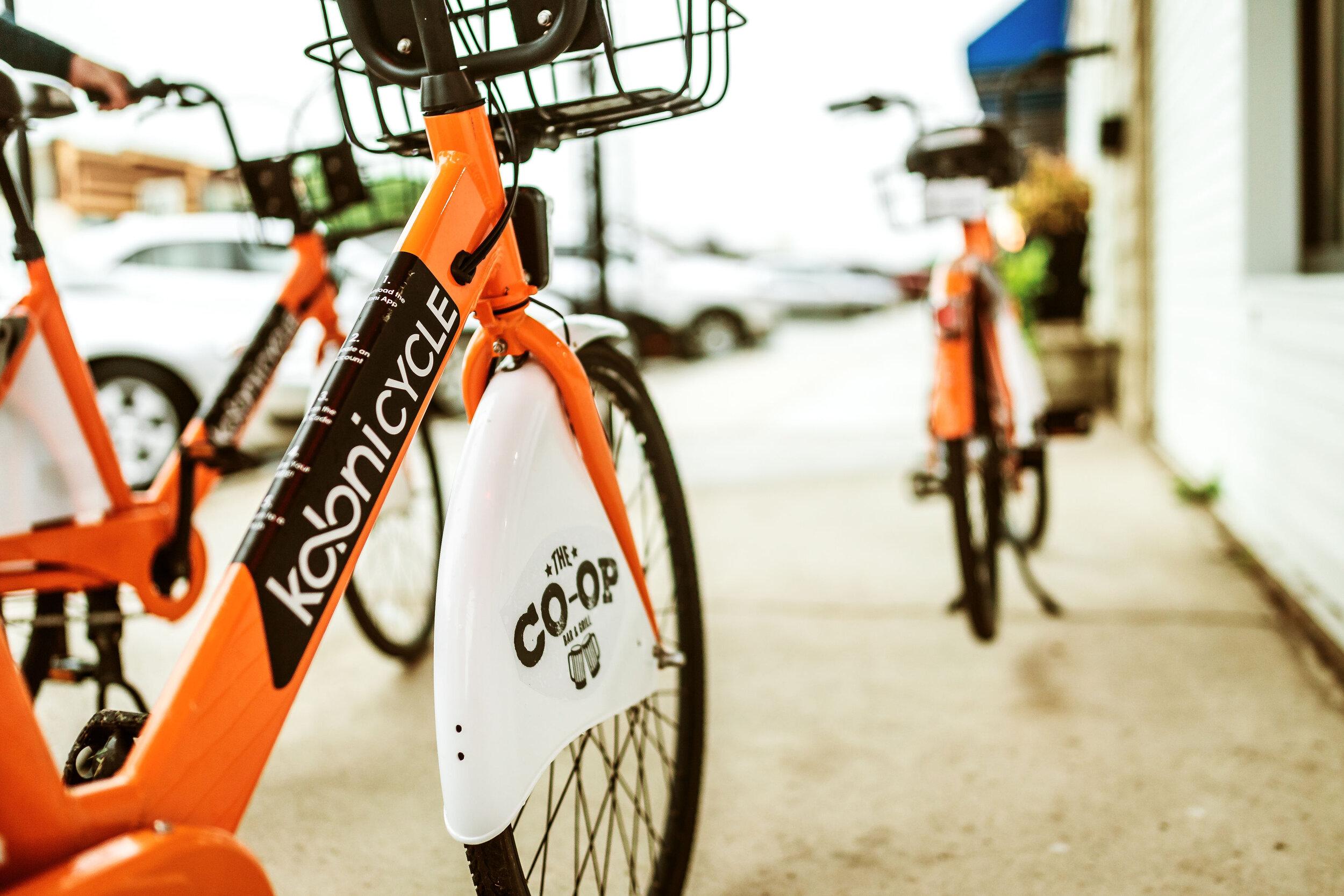 On-Bike Advertising  - Often pays for your entire program.
