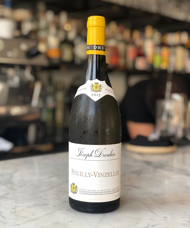 Pouilly-Vinzelles, Joseph Drouhin, Chardonnay - 2015📍Burgundy, France. #troquetnyc