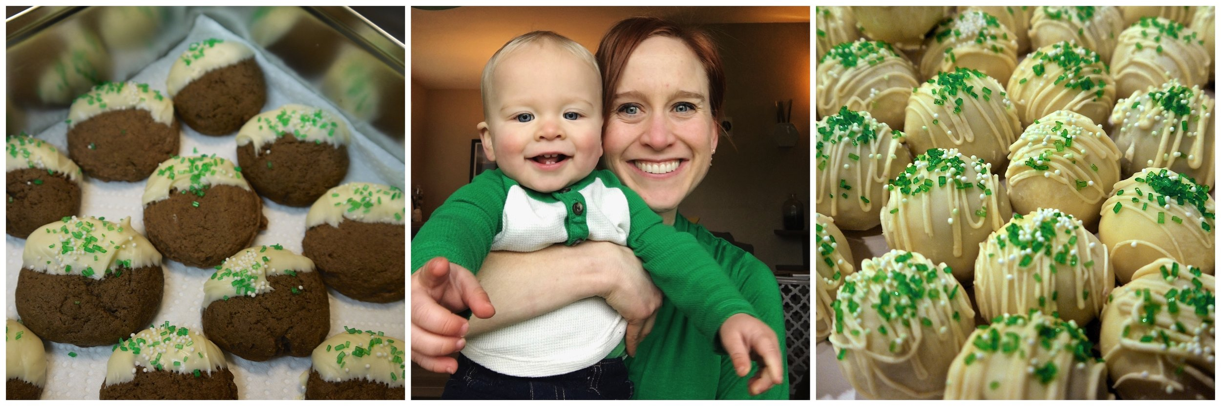 Saint Patrick's Day Goodies & Selfies of the past