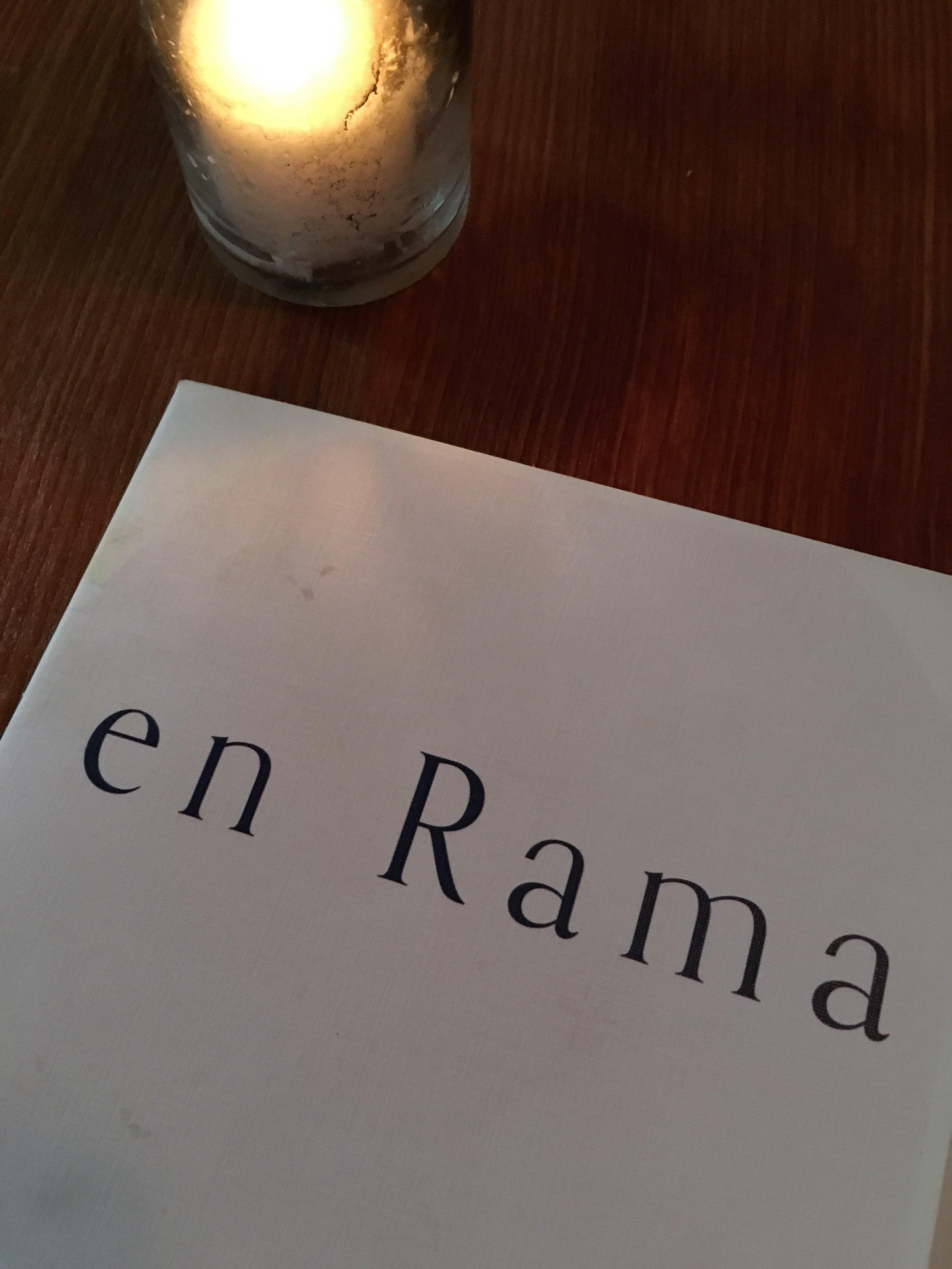 En Rama: Menu