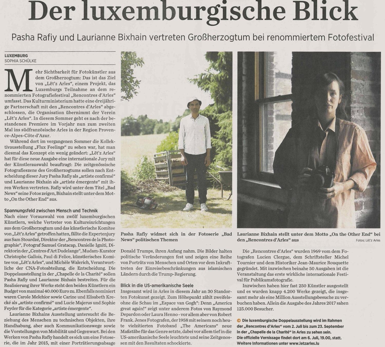 Journal - 30 mars 2018Der luxemburgisch Blick