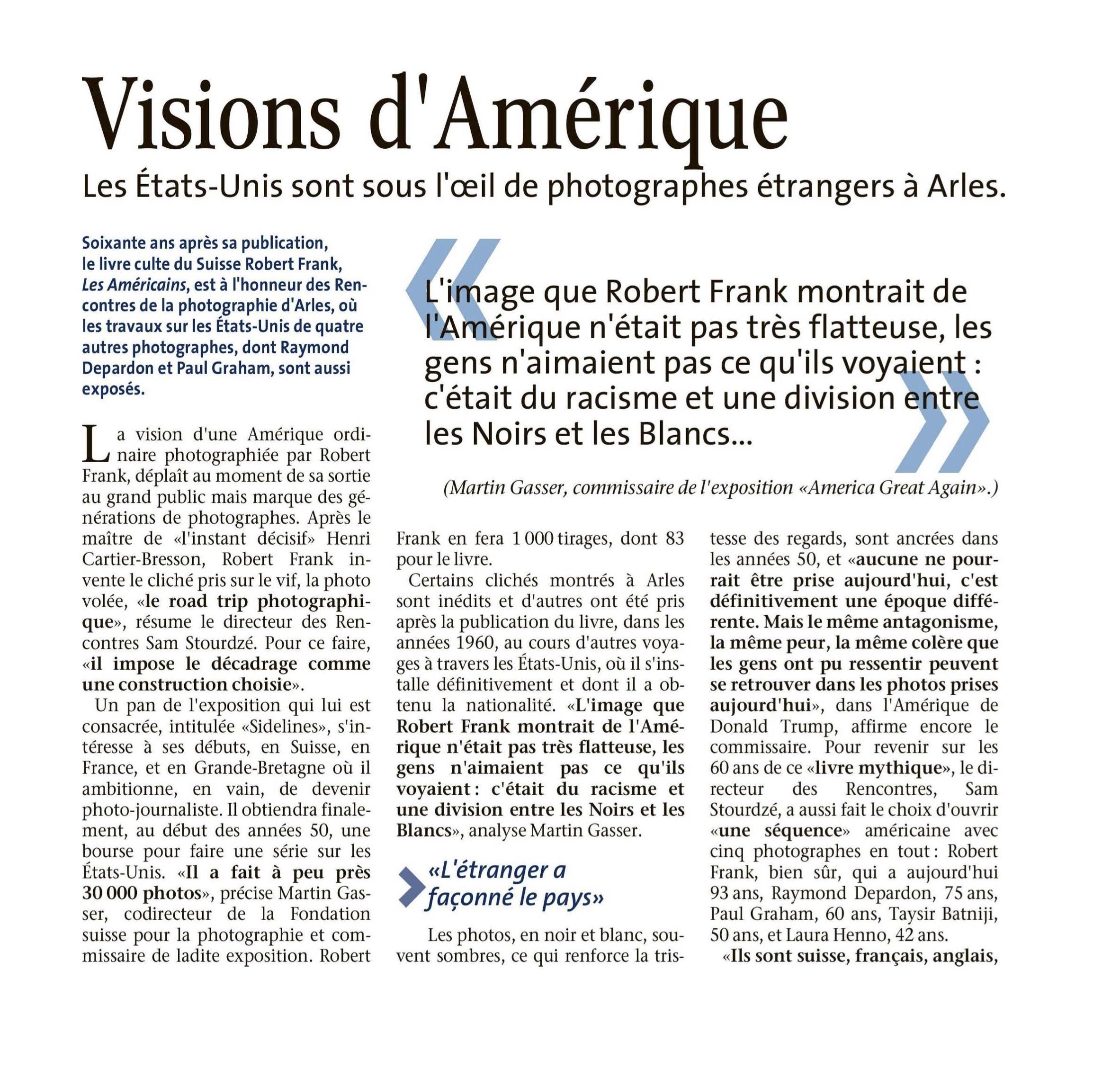 Le Quotidien - 12 juillet 2018