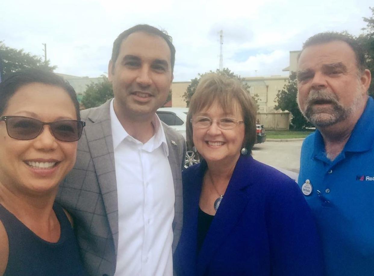 With Florida State Representative Mike La Rosa