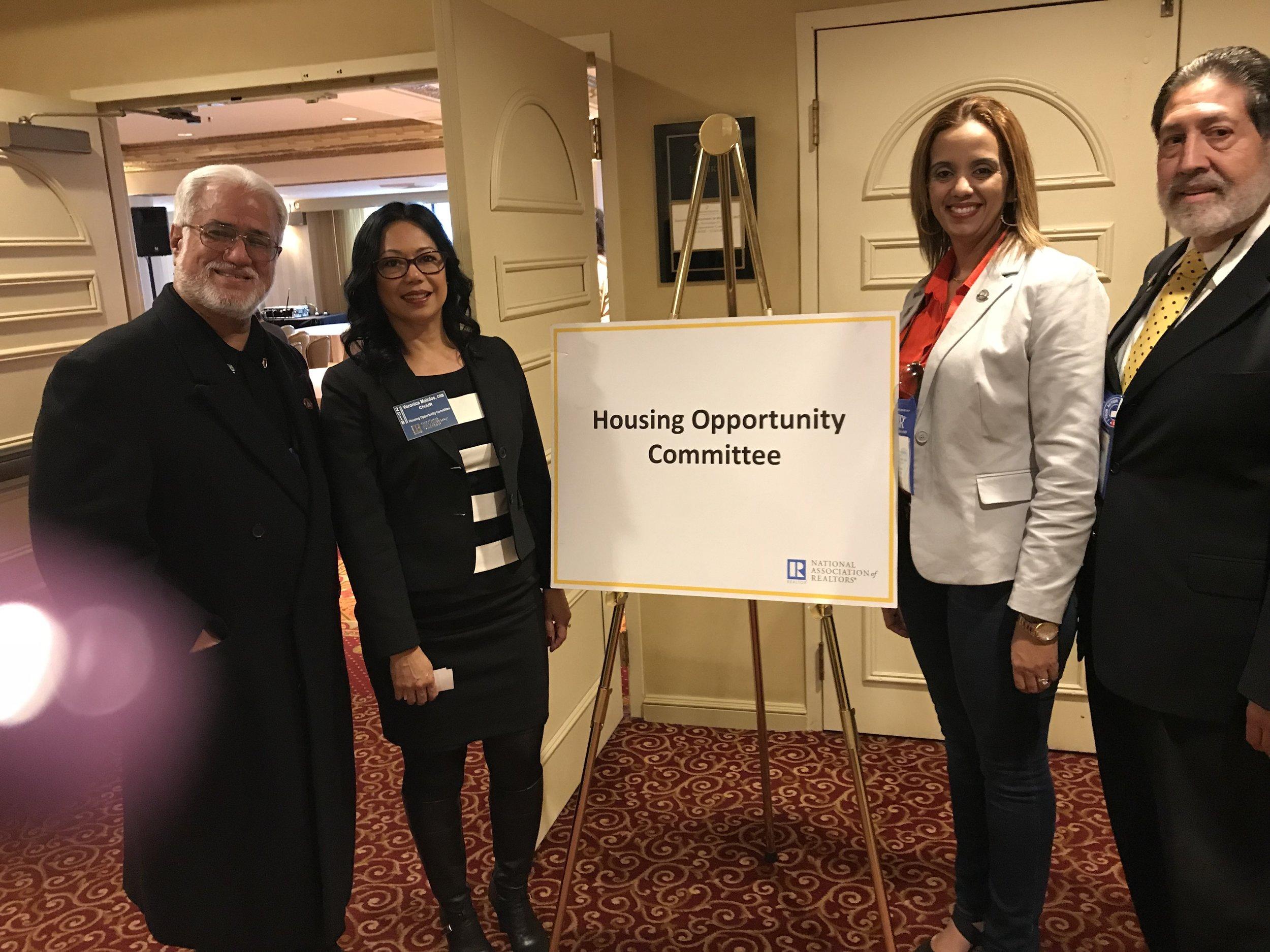With Puerto Rico Realtor Association leadership