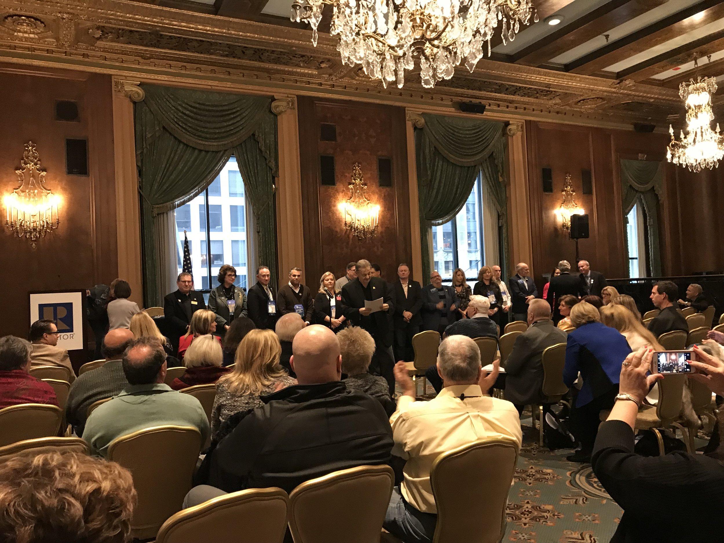 At NAR Region 5 Caucus 2017