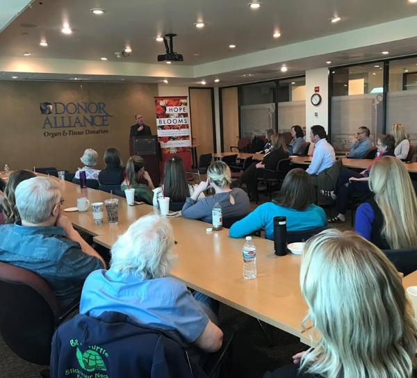 DENVER, CO  - Donor Alliance - 4/19/18