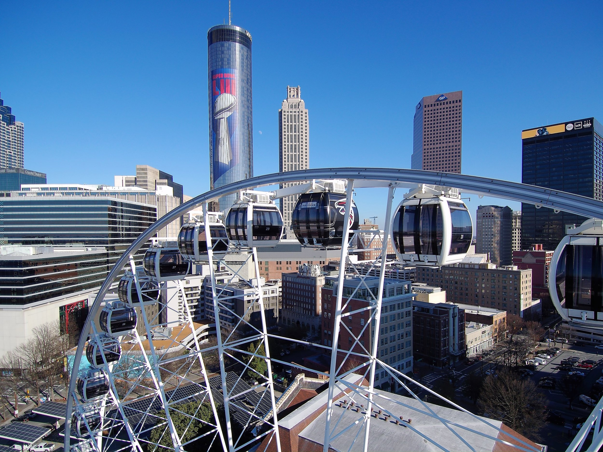 Interested in branding SkyView Atlanta for your next big event? - E-mail events@skyviewatlanta.com for more information.