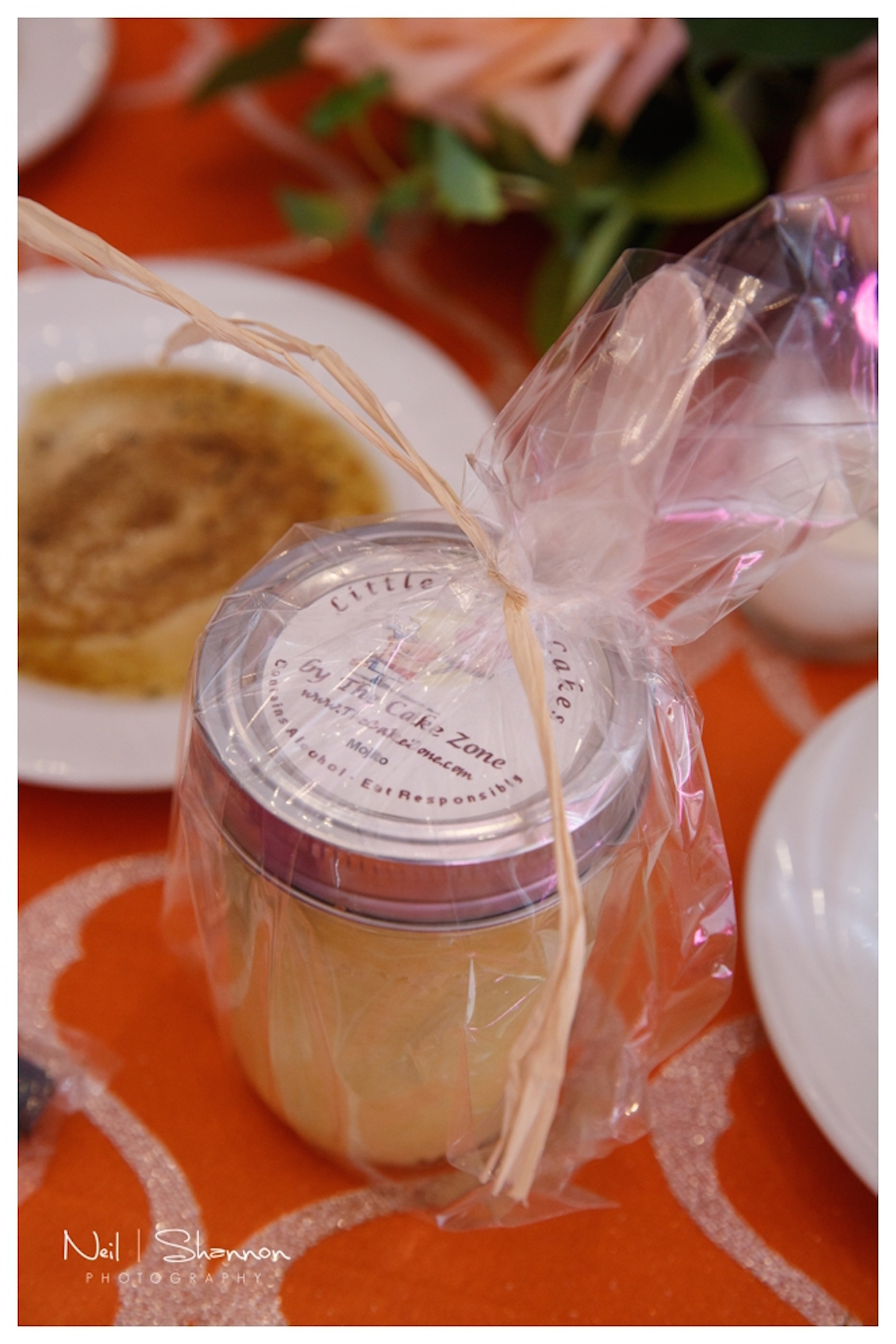 Little Tipsy Cakes Wedding Favors by The Cake Zone | Rustic, Elegant Sarasota Wedding Venue | Bakers Ranch