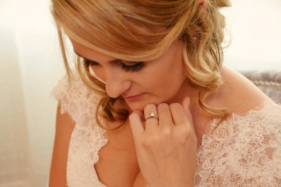 Sarasota Bridal Portrait on Wedding Day