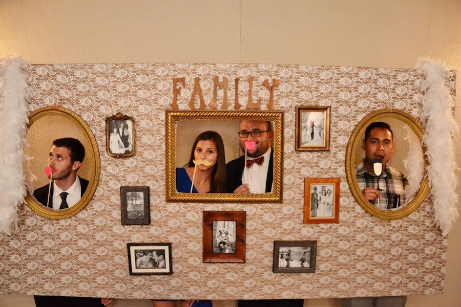 Wall Portrait Wedding Photo Booth