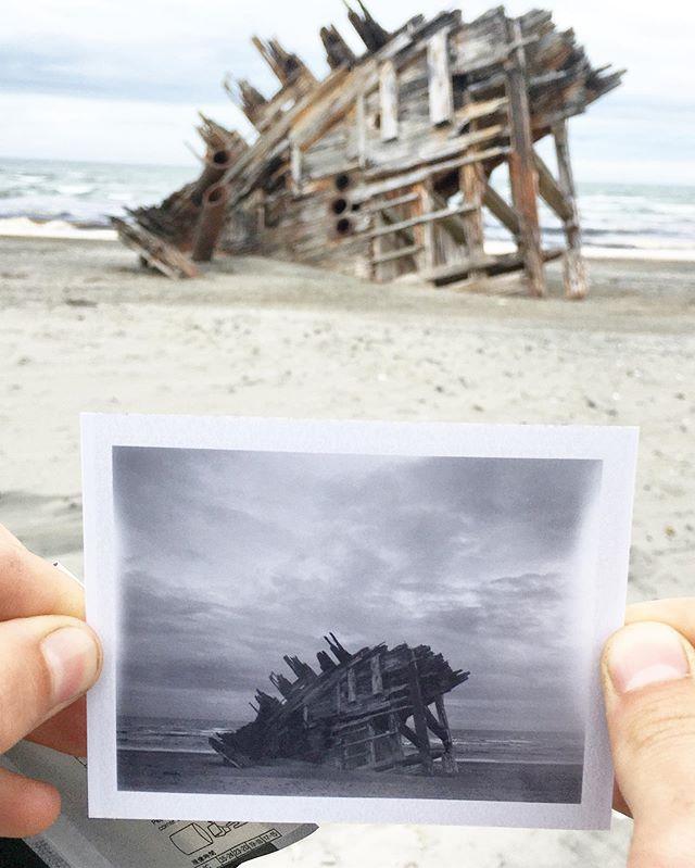 Pesuta Ship Wreck, Haida Gwaii.
