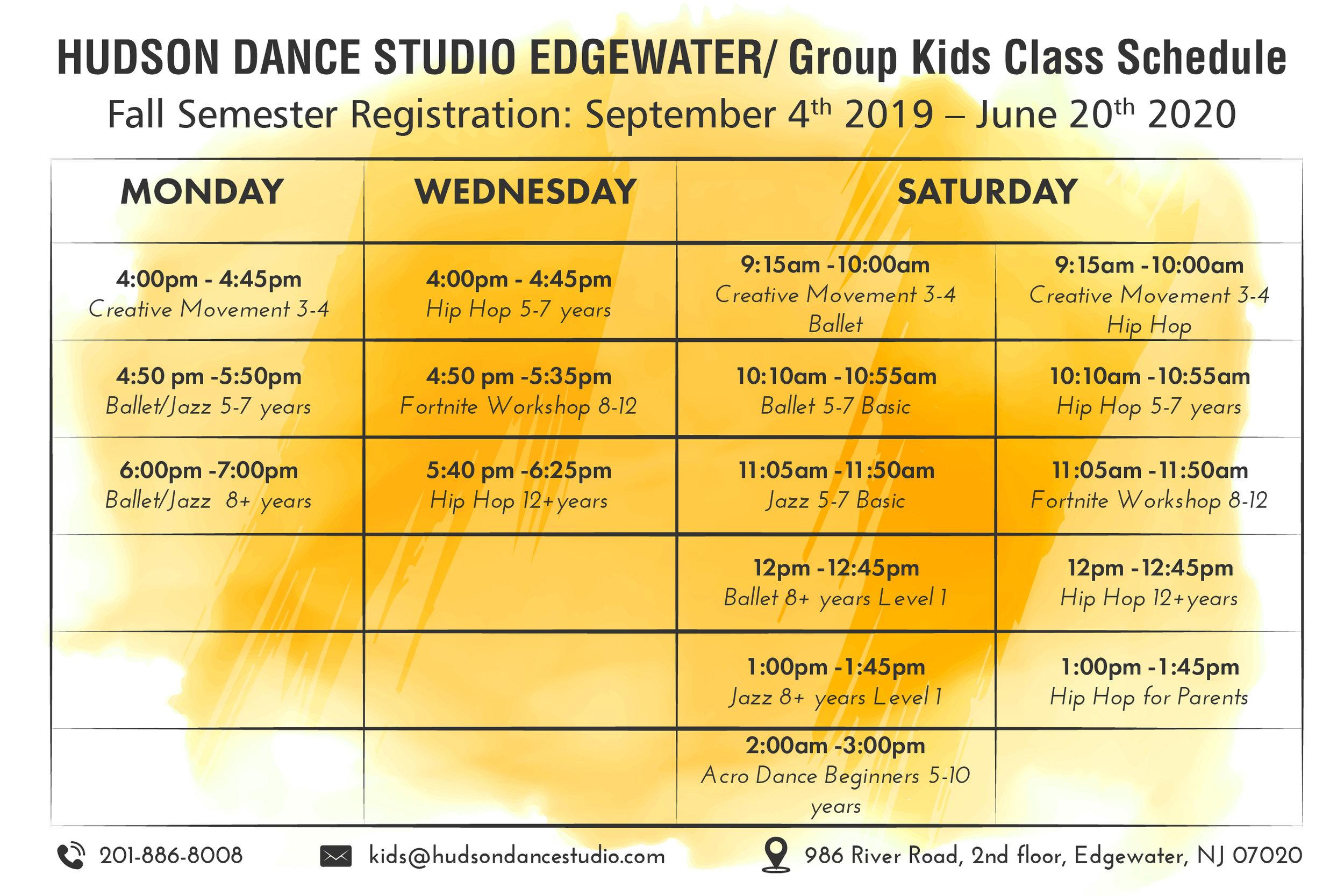 Kids Dance Schedule Edgewater NJ.jpg
