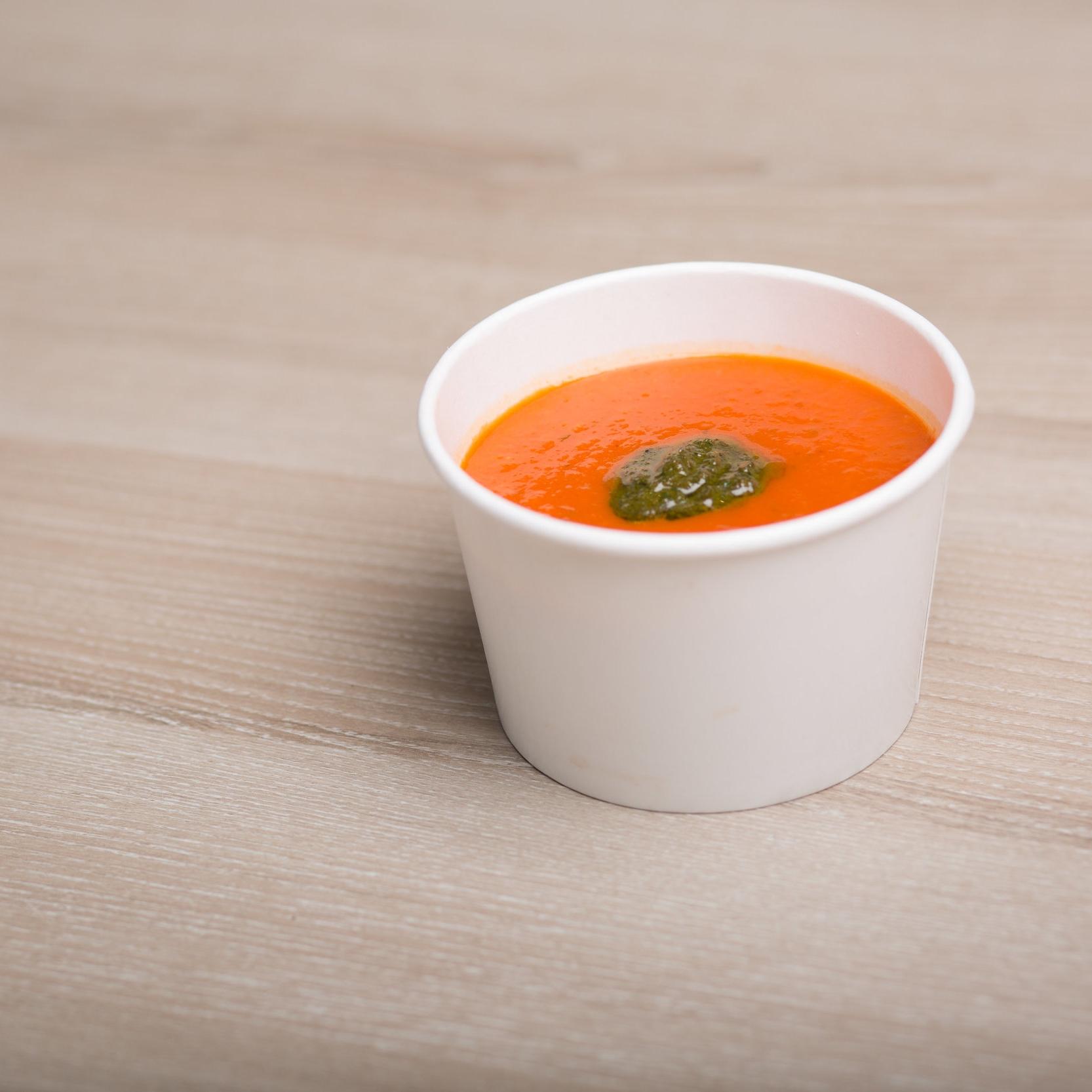 Vegan soup, Vegan meals located at 424 Queen Street W, Toronto Ont