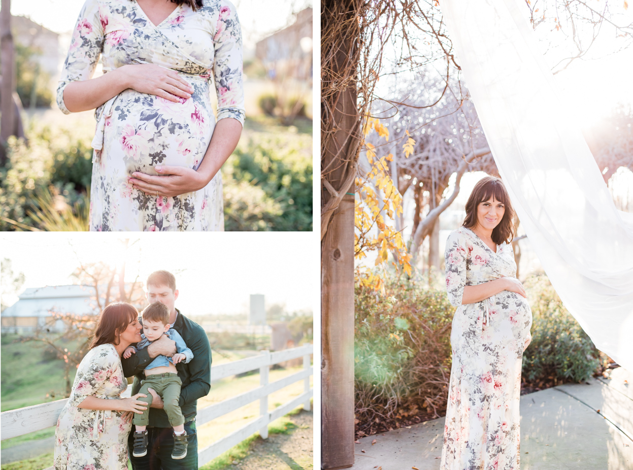 maternity collage, pregnant belly, family with belly