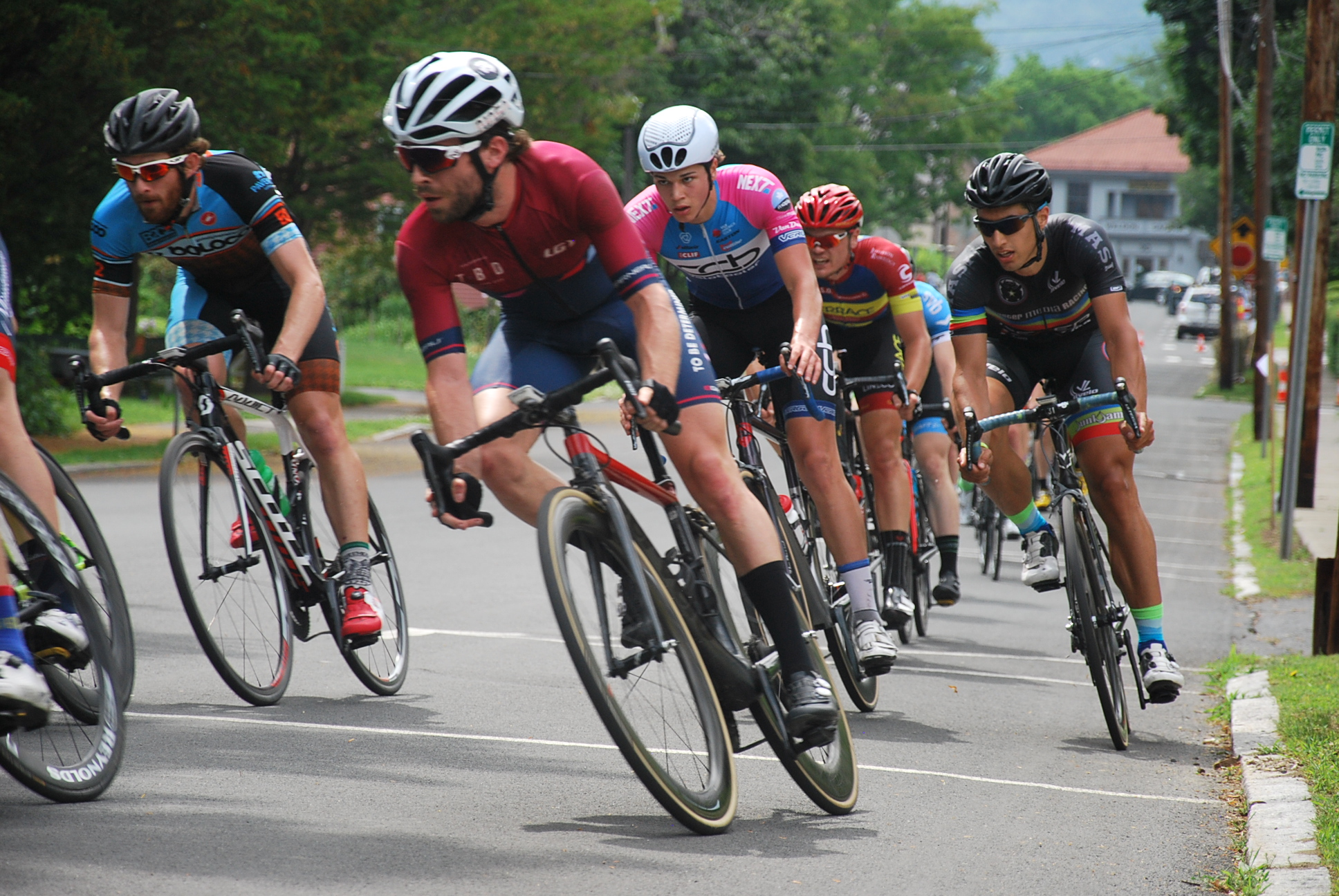 """""""Our bodies drained of water and covered in mosquito bites, we repacked the car, and headed back to our concrete jungle, heads full of good memories.""""   Read the whole story of two NYC riders' adventure to race the Greenfield Crit"""