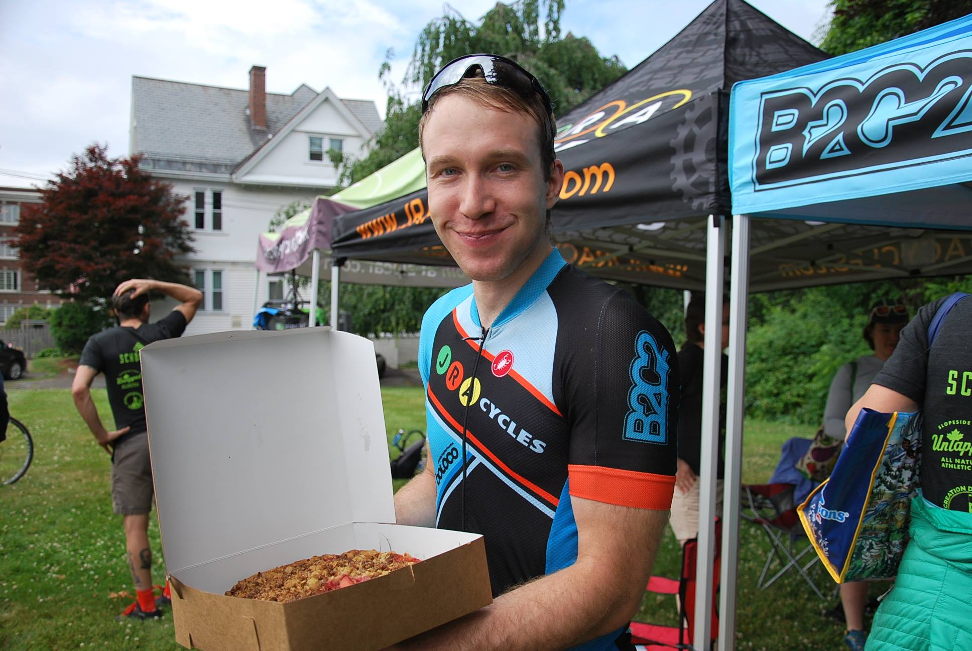 Pie or other tasty treats for our amateur race winners is one thing that won't be changing in 2019.