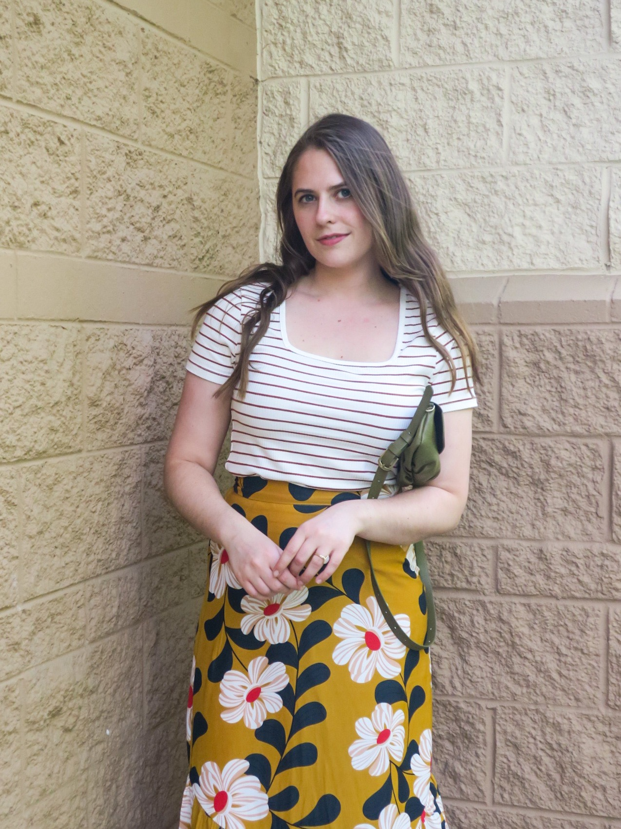 striped tee floral skirt.JPEG