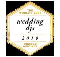 the world's best wedding djs awarded to benjamin t warner dj & Musician in 2019