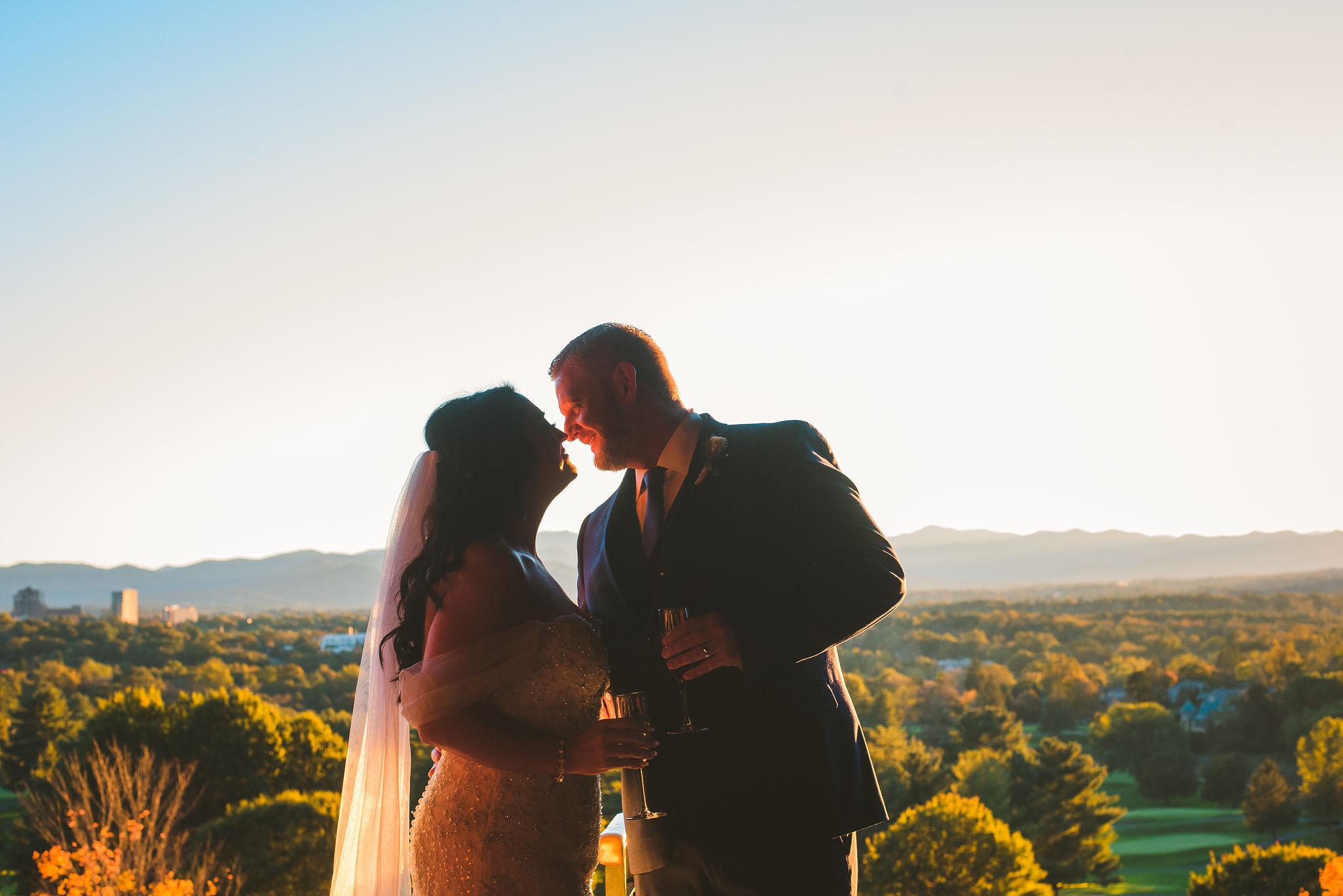 OMNI GROVE PARK INN wedding in ASHEVILLE, north carolina - breathtaking outdoor BLUE RIDGE mountain wedding ceremony