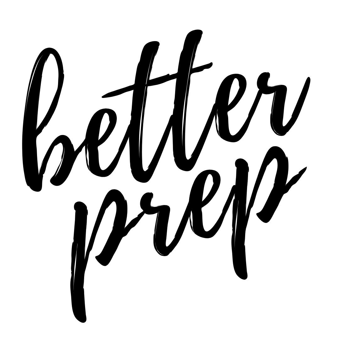 better prep calgary meal prep logo