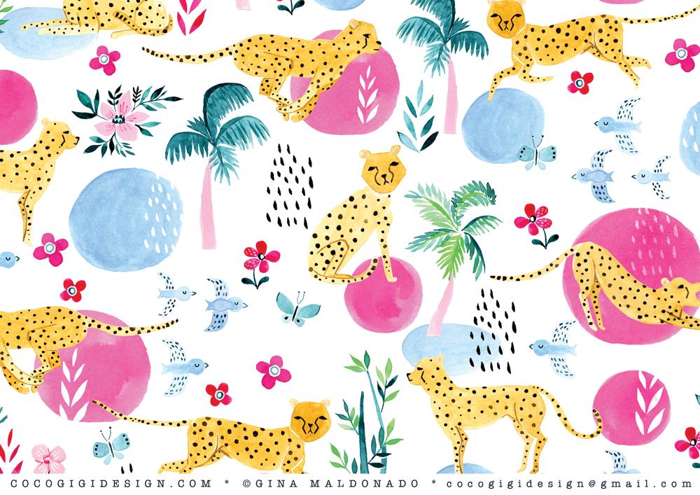 Gina Maldonado - Tropical cheetahs.jpg