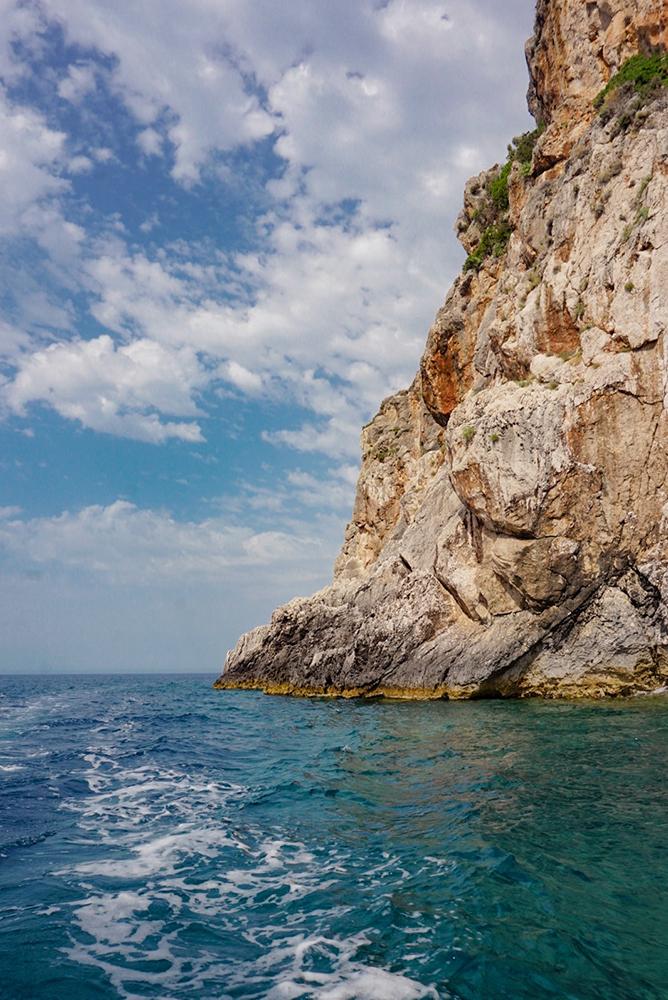 Cliffs in Paleokastritsa