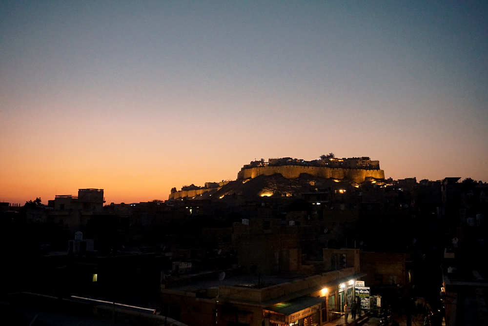 Jaisalmer Fort at sunset