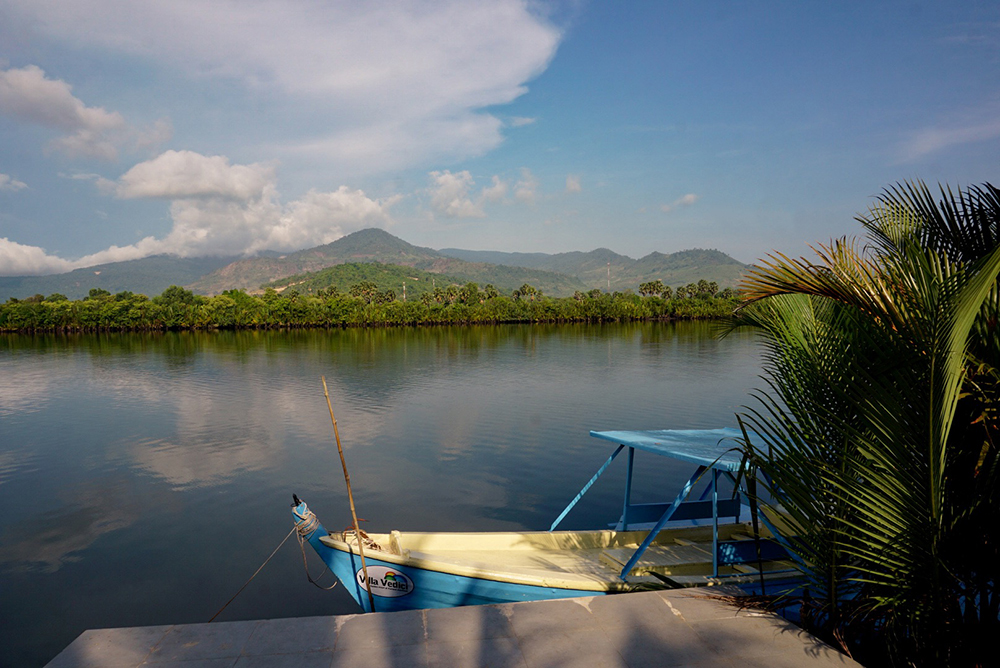 View of the Kampot River