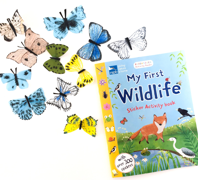 Gina Maldonado - First wildlife sticker activity book - Coco Gigi Design.JPG