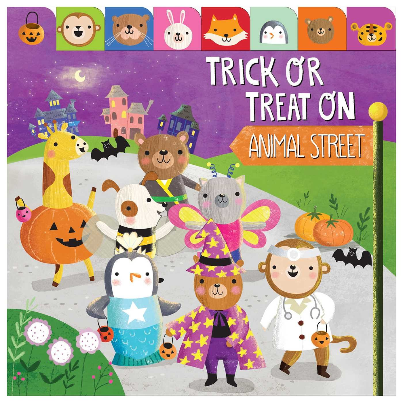 Trick or treat on animal street book cover - Coco Gigi Design.jpg