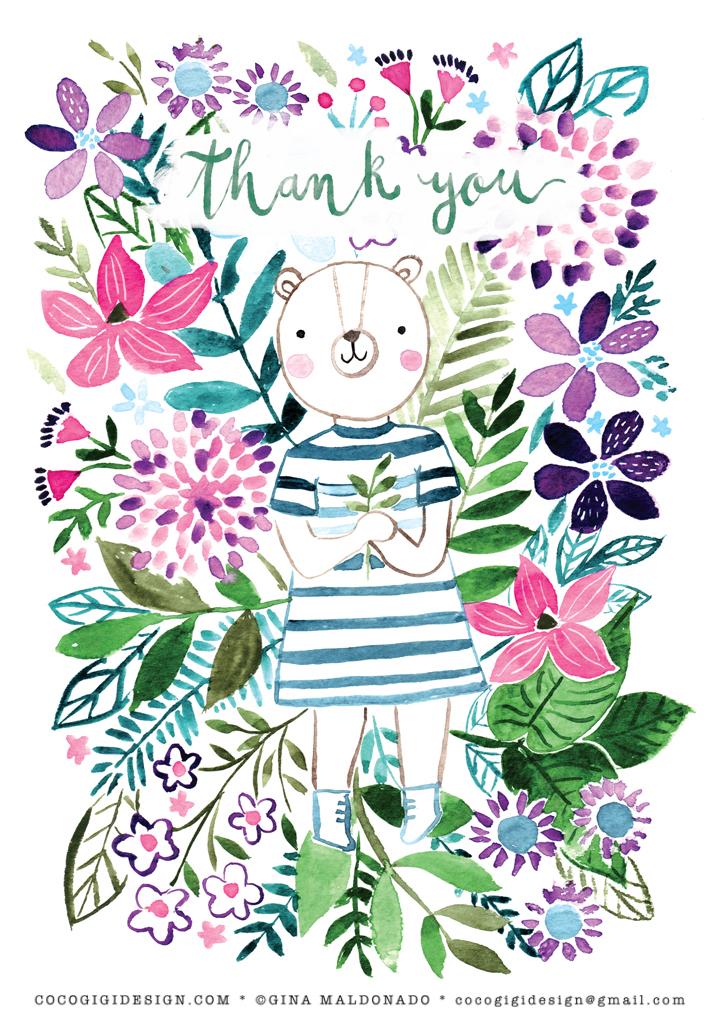 Gina Maldonado - Thank you bear floral.jpg