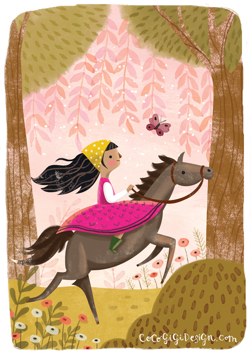 Gina Maldonado - Girl Galloping.jpg