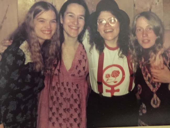 Publicity photo for Womansong, Marline's 1970s band.