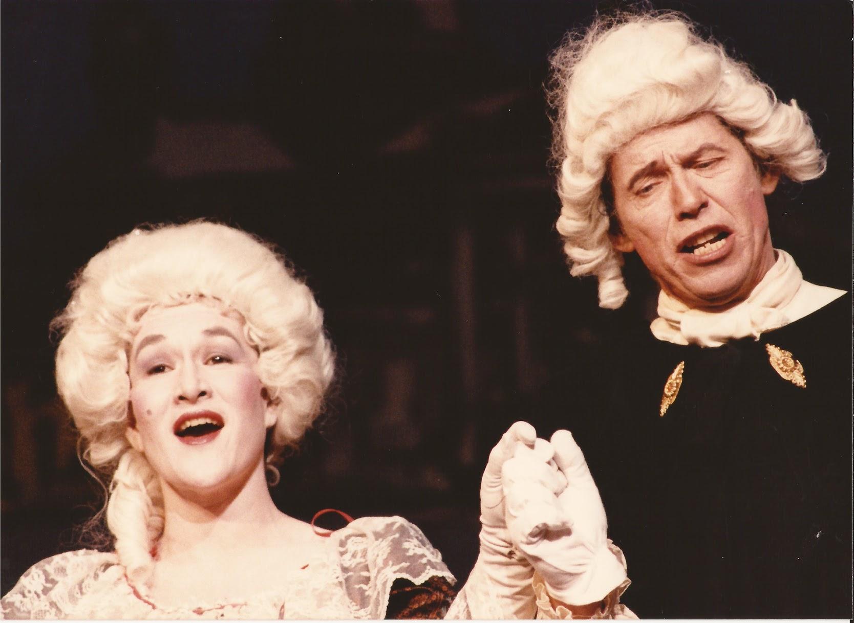 Marline in a Gilber & Sullivan show