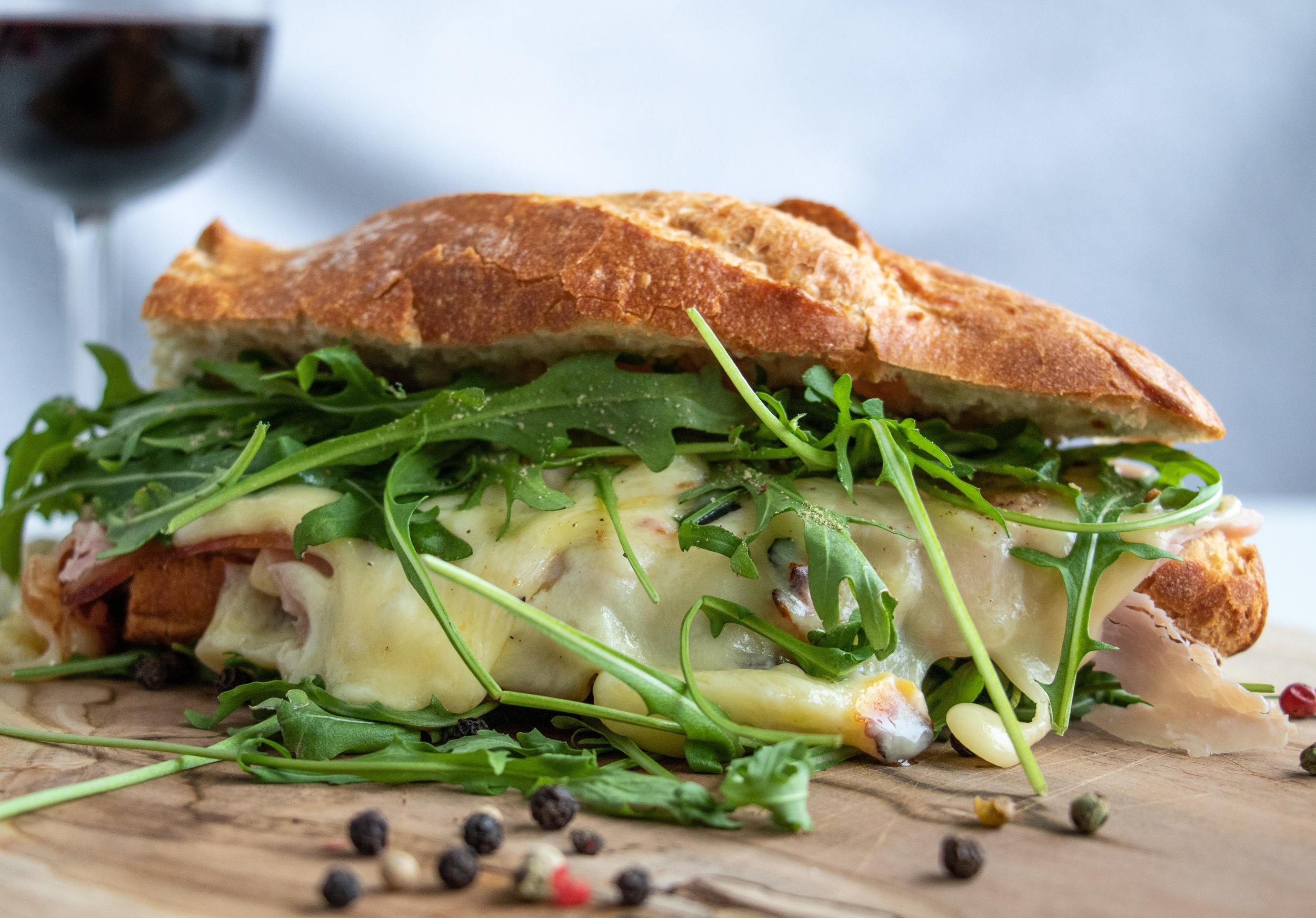 raclette on a baguette.JPG