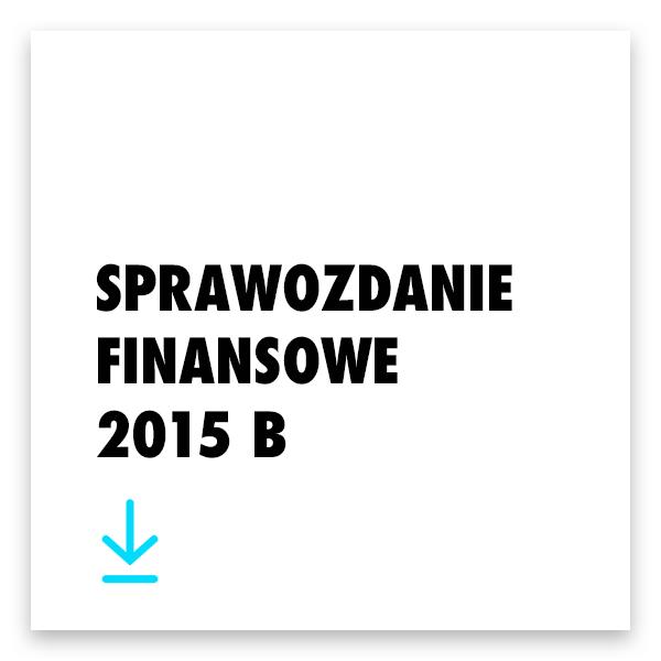 Pobierz sprawozdanie finansowe 2015 B