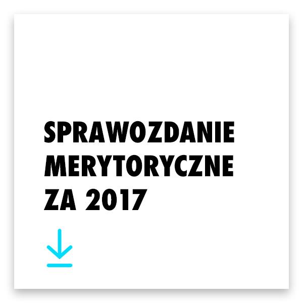 Pobierz sprawozdanie merytoryczne 2017